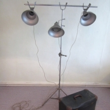 VINTAGE PHOTOGRAPHY LIGHTS