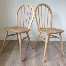 ORIGINAL VINTAGE ERCOL CHAIRS
