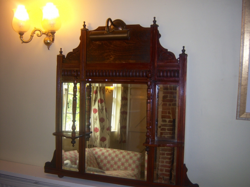 VICTORIAN OVERMANTLE MIRROR - Wall Features u0026 Mirrors ...